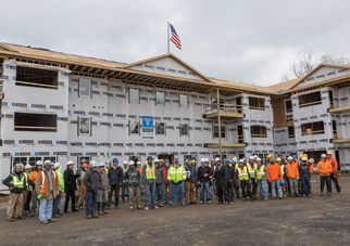 """The Legends at Whitney Celebrates """"Topping Out"""""""
