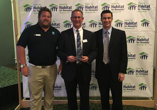 Taylor Receives Community Builder Award from Flower City Habitat for Humanity