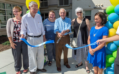 Cayuga View Senior Living Holds Ribbon Cutting Ceremony in Lansing