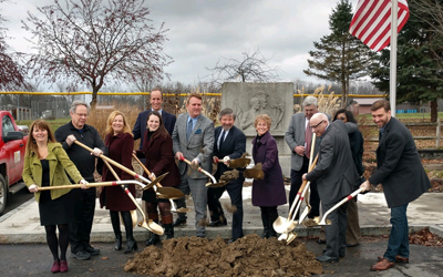 Taylor Breaks Ground for Affordable Housing Development in Town of Lansing