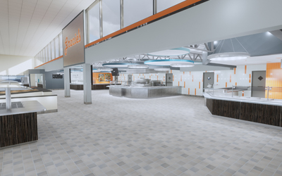 Grace Watson Kitchen & Servery Renovation Underway at RIT