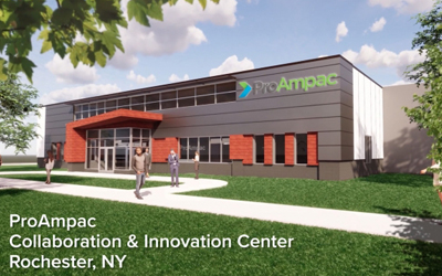 NY State Lt. Gov. Kathy Hochul, Other Officials Salute the Construction of ProAmpac's Rochester Collaboration & Innovation Center