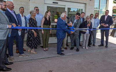 Taylor Celebrates Ribbon Cutting at New Courtyard By Marriott Hotel